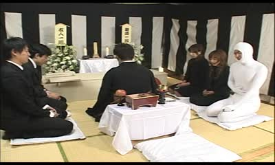 Invisible Man at Funeral