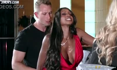 Diamond Jackson surprise anal