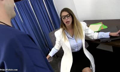 PRIMAL BROOKLYN CHASE Humiliating and Fucking the Hot Bitch Doctor