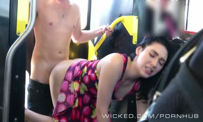 Wicked - Aria gets fucked on the bus