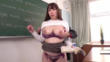 Hot Japanese Teacher Gets Time Stopped