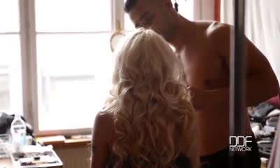Submissive Surprise - Two Guys Penetrate Young Doll