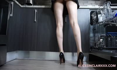 Young Maid Alice Sinclair Gets Fucked While Cleaning the House